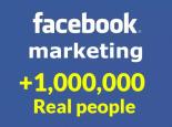 Yo voy a promocionar tu link con 1,000,000 de personas en facebook