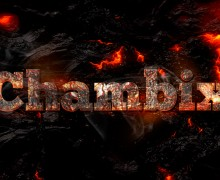 replicar tu logo en textura metal con fuego y lava en 24 hrs