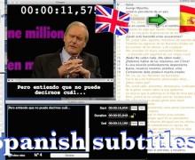 Yo voy a subtitular tu video en español