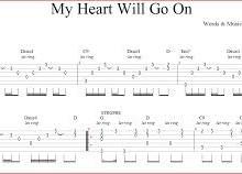 Yo voy a hacer la tablatura de la canción que quieras