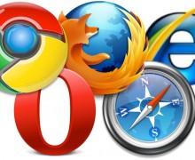 Yo voy a revisar su web en otros browsers.