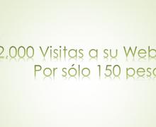 Yo voy a llevar 2,000 visitas a tu web o Blog