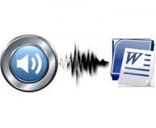 Yo voy a transcribir tus vídeos o audios, con una excelente ortografía