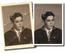 Yo voy a restaurar tu fotografía antigua o dañada