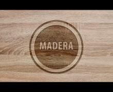 Yo voy a poner un logo grabado en madera