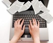 Yo voy a escribir artículos en español para tu Blog