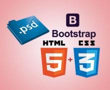 Yo voy a convert PSD to Bootstrap