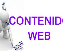 Yo voy a escribir un contenido web