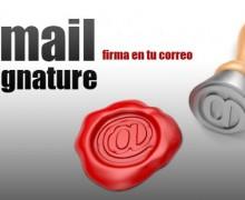 Yo voy a crear impresionante firma de correo electrónico