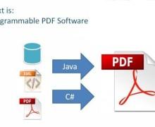 Yo voy a hacer la programación de documentos PDF con iText