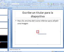 Yo voy a crear una presentación de diapositivas