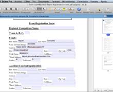 Yo voy a convertir documento a PDF Formulario rellenable