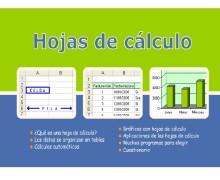 Yo voy a crear hojas de cálculo interactivos