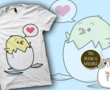 Yo voy a crear un diseño originaly lindo  para una camiseta