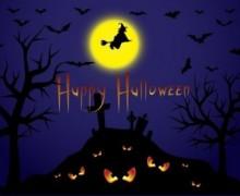 Yo voy a crear una Ilustración linda para Halloween