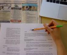 Yo voy a escribir artículos y texto en varios idiomas.