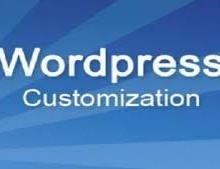 Yo  voy a hacer cualquier personalización de WordPress