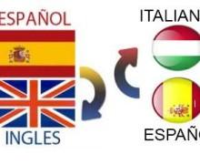 Yo voy a traducir en Italiano, Español o Ingles