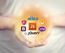 Yo voy a hacer JavaScript, HTML, CSS y wordpress