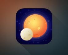 Yo voy a diseñar un icono en 3D para tu aplicación