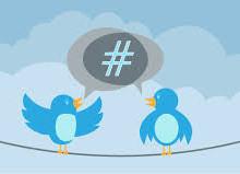 Yo voy a crear contenido de Twitter Tweets con hashtags