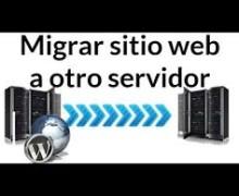 Yo voy a migrar su sitio de WordPress a un nuevo servidor