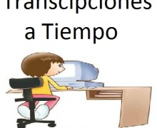 Yo voy a transcribir tu documento, audio o video