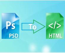 Yo voy a convertir psd a html con un código limpio