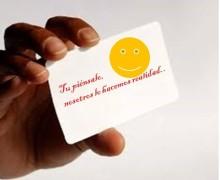 Yo voy a diseñar tu tarjeta de presentación
