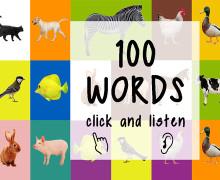 Yo voy a escribir hasta 100 palabras en Ingles