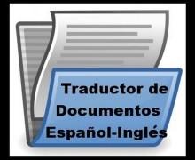 Yo voy a traducir textos en Español e Inglés