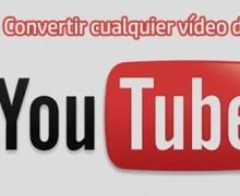 Yo voy a convertir cualquier vídeo de YouTube en un archivo MP3 o WAV