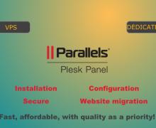 Yo voy a instalar el panel Plesk en Linux y Windows