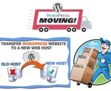 Yo voy a migrar tu  sitio WordPress a otro hosting o dominio