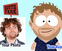 Yo voy a dibujarte como un personaje de SouthPark